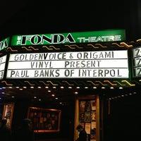 Foto scattata a The Fonda Theatre da Alicia F. il 12/11/2012