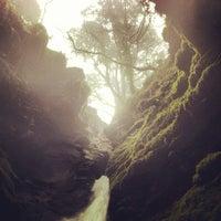 Foto tomada en St Nectans Glen Waterfall por Jeremy R. el 2/3/2013
