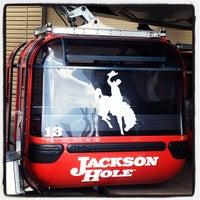 Снимок сделан в Jackson Hole Mountain Resort пользователем Bonnie C. 3/16/2013