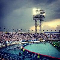 Foto tirada no(a) Стадион «Петровский» por Evgeny V. em 5/19/2013