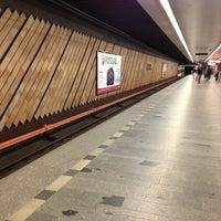Снимок сделан в Metro =C= Nádraží Holešovice пользователем Radek Z. 7/10/2013