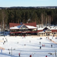 3/3/2013 tarihinde Natali Z.ziyaretçi tarafından Охта Парк'de çekilen fotoğraf