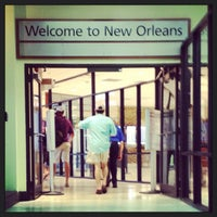 Снимок сделан в Louis Armstrong New Orleans International Airport (MSY) пользователем Paula A. 8/22/2013