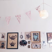 2/1/2015 tarihinde Midietaveganaziyaretçi tarafından Miss Perkins Tea Room'de çekilen fotoğraf