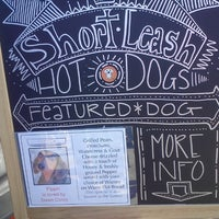 Photo taken at Short Leash Mobile Hot Dog Eatery by T Square on 2/22/2013