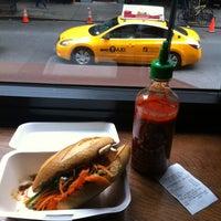 Снимок сделан в Num Pang Sandwich Shop пользователем IG 5/8/2012