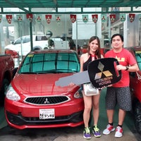 Photo taken at Mitsubishi Union Motor Edsa-Caloocan by Angel B. on 6/ ...
