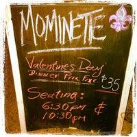 Снимок сделан в Mominette пользователем Tim B. 2/14/2013