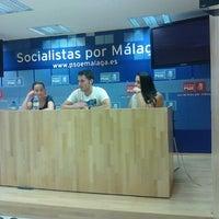 9/16/2012 tarihinde Iván A.ziyaretçi tarafından PSOE de Málaga'de çekilen fotoğraf
