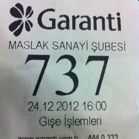 Photo prise au Garanti Bankası par Necati A. le12/24/2012
