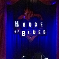 Foto tirada no(a) House of Blues por Ashley B. em 1/3/2013