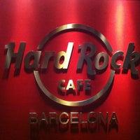 6/4/2013 tarihinde Caponochkaziyaretçi tarafından Hard Rock Cafe Barcelona'de çekilen fotoğraf