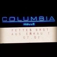 Das Foto wurde bei Columbiahalle von Tiberius T. am 2/7/2014 aufgenommen