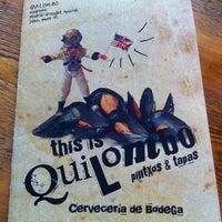 รูปภาพถ่ายที่ Quilombo Pintxos & Tapas โดย ISM เมื่อ 10/7/2012