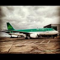 3/29/2013 tarihinde Vladimir D.ziyaretçi tarafından George Best Belfast City Airport (BHD)'de çekilen fotoğraf