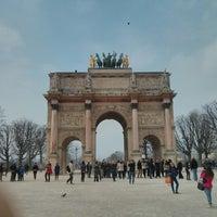 Foto tirada no(a) Arco do Triunfo do Carrossel por Qijiong J. em 3/29/2013