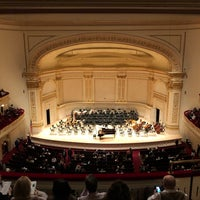 Foto scattata a Stern Auditorium / Perelman Stage at Carnegie Hall da Matthew C. il 11/1/2018