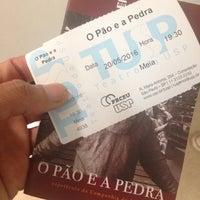 Das Foto wurde bei Teatro da Universidade de São Paulo (TUSP) von Alessandro M. am 5/20/2016 aufgenommen