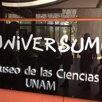 Das Foto wurde bei Universum, Museo de las Ciencias von Salvador G. am 3/29/2013 aufgenommen