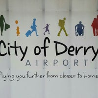 Foto tirada no(a) City of Derry Airport (LDY) por Rue em 5/11/2016