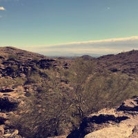 Photo taken at South Mountain Hiking Trails by Carmen R. on 3/15/2018