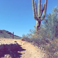 Photo taken at South Mountain Hiking Trails by Carmen R. on 3/1/2018