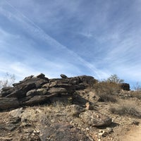 Photo taken at South Mountain Hiking Trails by Carmen R. on 3/6/2018