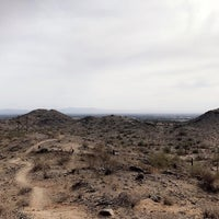 Photo taken at South Mountain Hiking Trails by Carmen R. on 3/13/2018