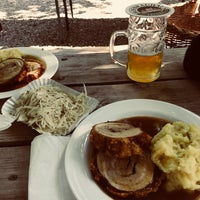 Biergarten Schlossallee Beer Garden