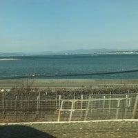2/9/2018にさかいやペガサスが東海道新幹線 第三浜名橋梁で撮った写真