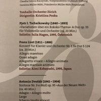 Tonhalle Maag Escher Wyss Zurich Zurich
