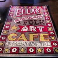 Снимок сделан в Ella's Americana Folk Art Cafe пользователем Josh G. 2/19/2013