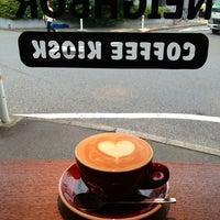 Das Foto wurde bei Be A Good Neighbor Coffee Kiosk von Sergey G. am 7/5/2013 aufgenommen