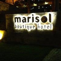 Das Foto wurde bei Marisol Boutique Hotel & Beach von Seda Y. am 8/4/2013 aufgenommen