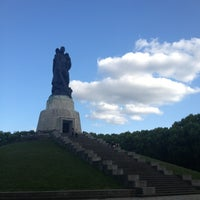 7/10/2013 tarihinde Aleks M.ziyaretçi tarafından Treptower Park'de çekilen fotoğraf