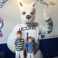 Photo taken at UConn Dairy Bar by Joseph S. on 7/21/2013