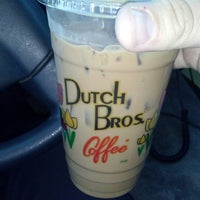 Photo taken at Dutch Bros. Coffee by Richard C. on 1/8/2013