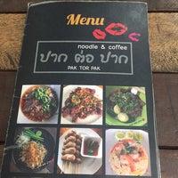 Foto scattata a ปากต่อปาก Noodle & Coffee da MJ Y. il 5/9/2017