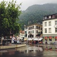 8/23/2013 tarihinde Mariyahziyaretçi tarafından Interlaken'de çekilen fotoğraf