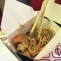 Das Foto wurde bei Woka Asia Food von Anastasiya👸🏼 am 7/20/2016 aufgenommen