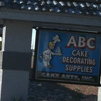 Photo taken at ABC Baking & Cake Decorating Supplies by Crystal on 2/4/2013