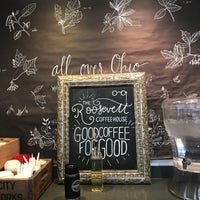 Photo taken at The Roosevelt Coffeehouse by Laura K. on 3/7/2018
