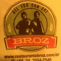 Снимок сделан в Restaurante Broz пользователем Elias J. 1/31/2013