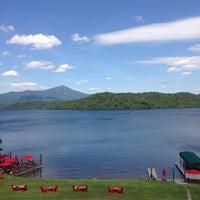 7/6/2014 tarihinde Patricia L.ziyaretçi tarafından Lake Placid Lodge'de çekilen fotoğraf