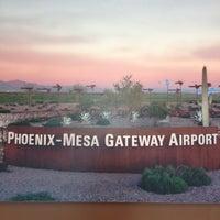 Снимок сделан в Phoenix-Mesa Gateway Airport (AZA) пользователем Julie - Visit StCloud 1/12/2013