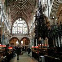 3/3/2013에 Derya T.님이 Exeter Cathedral에서 찍은 사진