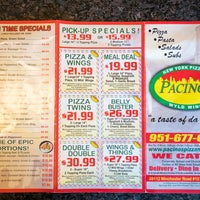 pacinos pizza coupons