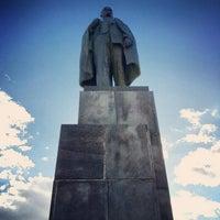 รูปภาพถ่ายที่ Площадь Ленина โดย Игорь Ш. เมื่อ 9/24/2013