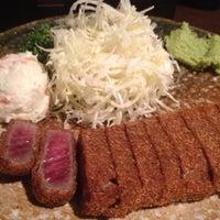 5/1/2013 tarihinde doccimoziyaretçi tarafından Gyukatsu Motomura'de çekilen fotoğraf