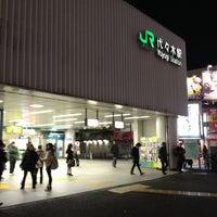 Foto tirada no(a) JR Yoyogi Station por 飯田 彰. em 1/9/2013